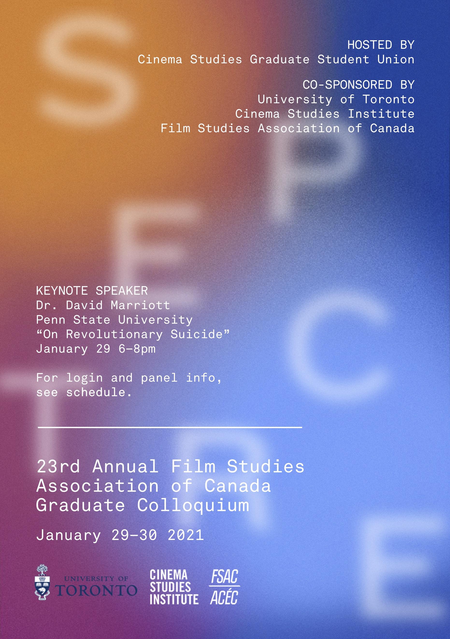 CSGSU FSAC Graduate Colloquium