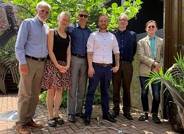 Kevin Chabot and doctoral committee